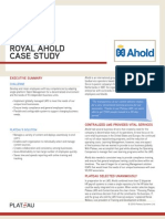 Case Study Royal Ahold
