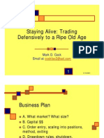 Staying Alive- Trading Defensively for Maximum Profit With Mark Cook