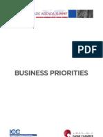 WTA Business Priorities