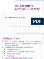 Undernutrition & Obesity