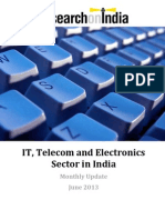 IT, Telecom and Electronics Sector in India Monthly Update June 2013