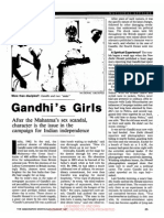 Gandhi's Girls