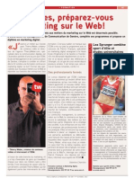 Article Tout l'Emploi Marketing Preparez-Vous Au Marketing Sur Le Web Octobre 2012