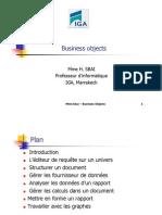 Sbai Cours BusinessObject 4EM 2012-2013