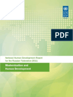 The Russian Federation human development report 2011