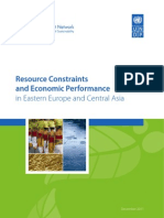 Resource constraints and economic performance in Eastern Europe and Central Asia