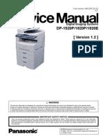 Manual Service Dp-1520