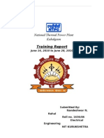 NTPC Kahalgaon Training Report