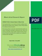 Bharti Airtel Research Report