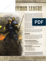 Journeyman League Rules