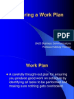 Preparing a Work Plan.ppt