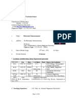 2016 July Full Biodata Prof. Bhavanari Satyanarayana