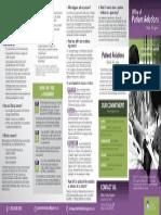 Patient Relations FAQ Sheet