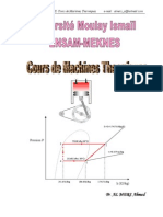 Cours Machines Thermiques