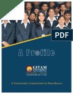 GITAM Profile 2012