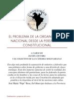 Organizacion Nacional y Problemas Constitucionales