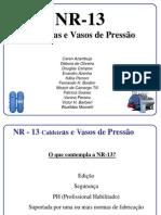 NR-13. Apresentação TRABALHOppt