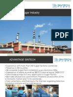 Presentation on Sintech make pumps for Sugar Industry