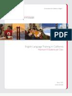 미국 CISL-Adult-Brochure