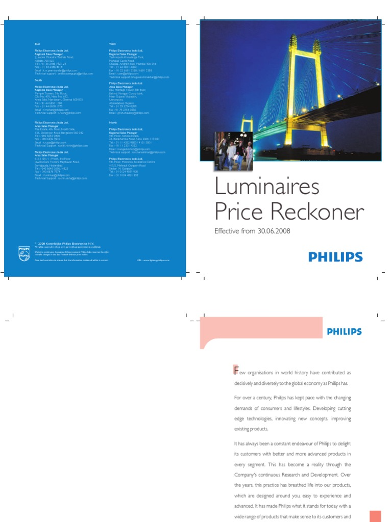 Luminaire Pricelist 30062008 Lighting Electrical Connector