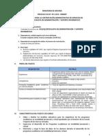 Convocatoria Cas 2013 051