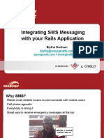 Integrating SMS Messaging with your Rails Application