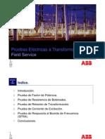 Pruebas Electricas en Transformadores(ABB)
