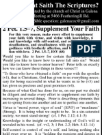 2010.04.28 - 2 Pet 1.5-7 - Supplement Your Faith