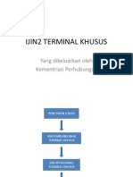 Ijin Terminal Khusus
