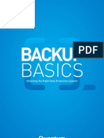 Backup Basics - Choosing the Right Data Protection System [ST00871A]