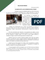 05/07/13 Germán Tenorio Vasconcelos EN ESTAS VACACIONES EVITA ACCIDENTES EN EL HOGAR.doc