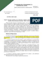 Circolare 1674 Procedura Membrature Di Ricambio Finale