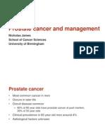 Prostate Cancer UK MAsterclass Coventry July 2013
