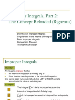 30. Improper Integrals 2 (Rigorous)