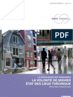 Piguet Etienne - La Volont de Migrer Tat Des Lieux Th Orique 20101213