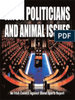 Irish Politicians and Animal Issues