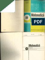 Algebra Cls12 1981