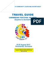 CARIFESTA XI -Travel Guide