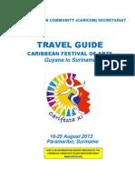 CARIFESTA XI -Travel Guide