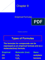 Empirical Formulas(68)