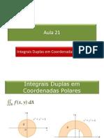 21_Integrais Duplas Em Coordenadas Polares