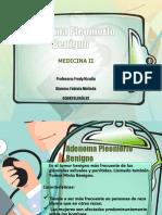 Adenoma Pleomorfo Benigno