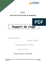 Rapport de Stage Cires Telecom