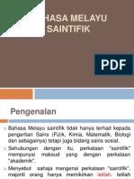 110526090 Bahasa Melayu Saintifik