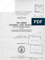 The Lambart Conformal Conic Projection