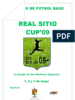 Dossier Real Sitio Cup 09