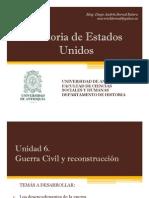 Unidad 6 Guerra Civil y la Reconstrucción