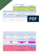 Cronograma de Actividades 2013