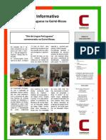 Boletim Informativo nº 14 da Cooperação Portuguesa na Guiné-Bissau (maio a junho 2013)