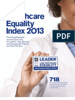 2013 Healthcare Equality Index